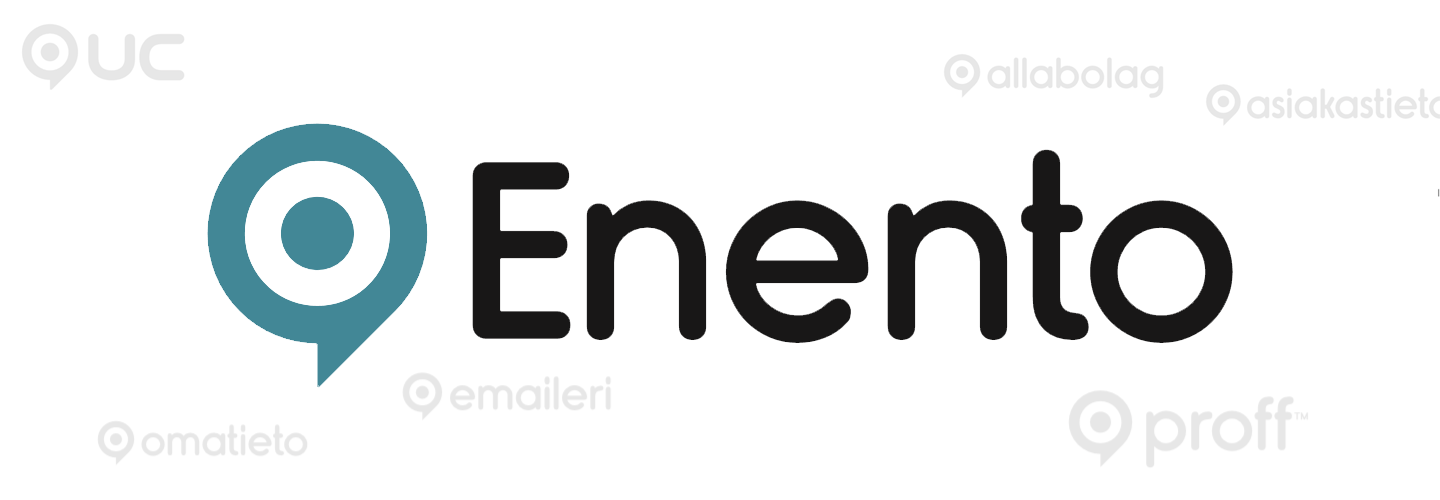 Enento Group logos